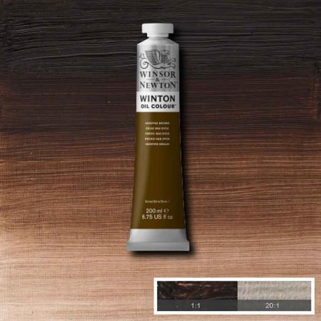 W&N PEINTURE HUILE WINTON 200ML 676 BRUN VAN DYCK