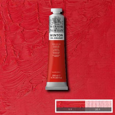 W&N PEINTURE HUILE WINTON 200ML 682 NUANCE VERMILLON