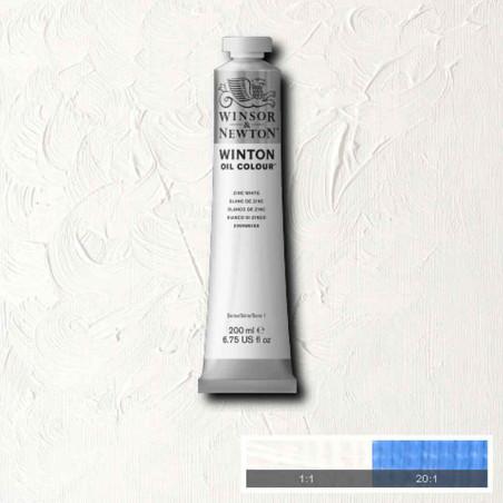W&N PEINTURE HUILE WINTON 200ML 748 BLANC DE ZINC