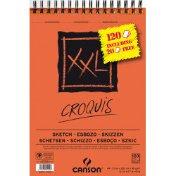 CANSON XXL CROQUIS 90G A4 120F/PROMO RENTREE