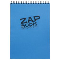 1/2 ZAP BOOK SPIRALE GRAND COTE 80G/M² A6 80P