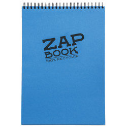1/2 ZAP BOOK SPIRALE GRAND COTE 80G/M² A5 80P