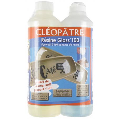 Glass'Flex résine de glaçage flexible