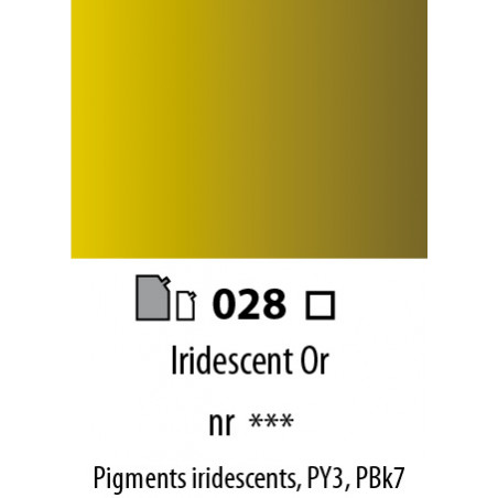 ABSTRACT SATINEE 120ML 028 IRIDESCENT OR