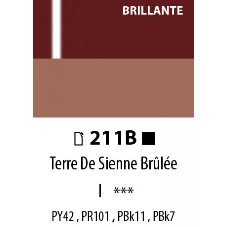 ABSTRACT BRILLANTE 120ML 211B TERRE SIENNE BRULEE