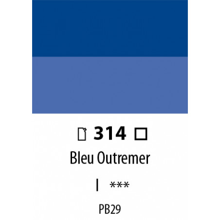 ABSTRACT SATINEE 120ML 314 BLEU OUTREMER