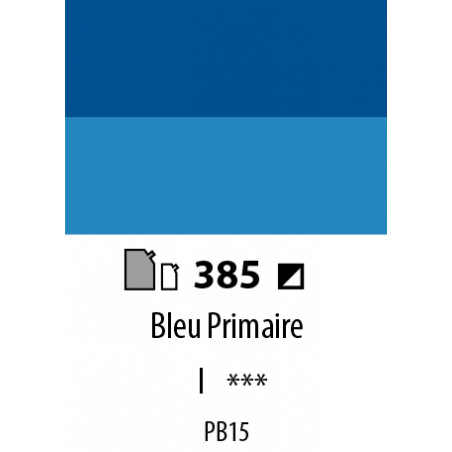 ABSTRACT SATINEE 120ML 385 BLEU PRIMAIRE