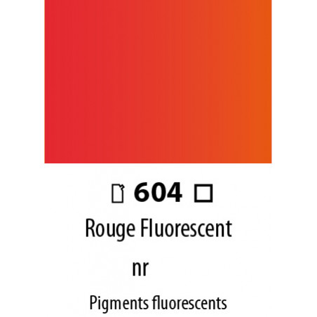 ABSTRACT SATINEE 120ML 604 ROUGE FLUORESCENT