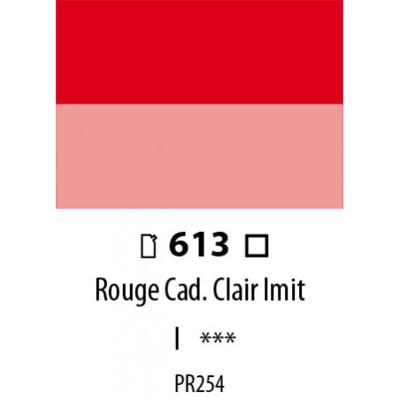 ABSTRACT SATINEE 120ML 613 ROUGE CADMIUM CLAIR