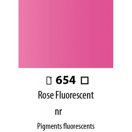 ABSTRACT SATINEE 120ML 654 ROSE FLUORESCENT