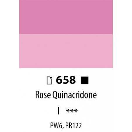 ABSTRACT SATINEE 120ML 658 ROSE QUINACRIDONE