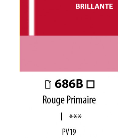 ABSTRACT BRILLANTE 120ML 686B ROUGE PRIMAIRE