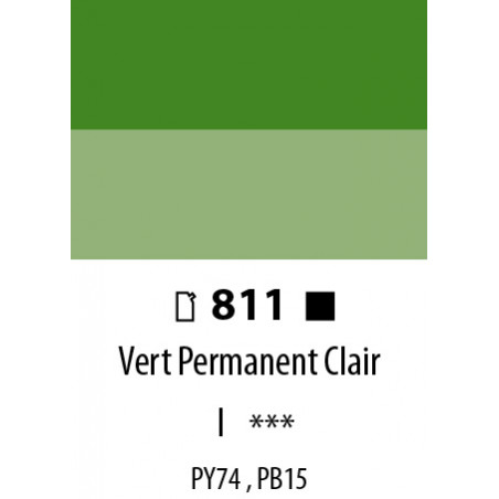 ABSTRACT SATINEE 120ML 811 VERT PERMANENT CLAIR