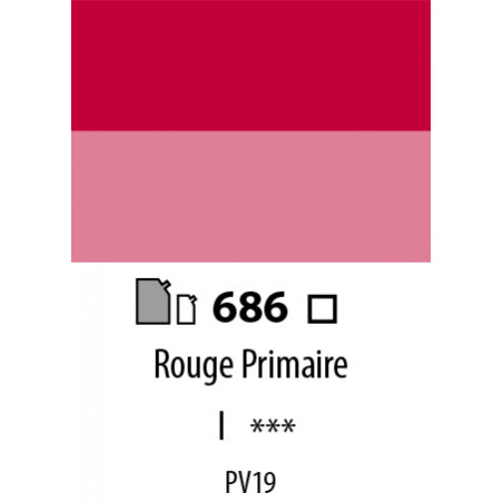 ABSTRACT SATINEE 500ML 686 ROUGE PRIMAIRE