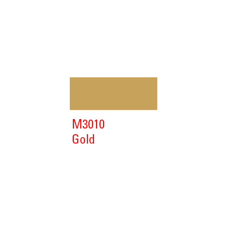 MONTANA MARKER 2MM M3010 GOLD MATT