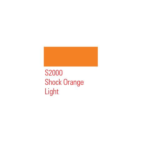 MONTANA MARKER 2MM S2000 SHOCK ORANGE LIGHT