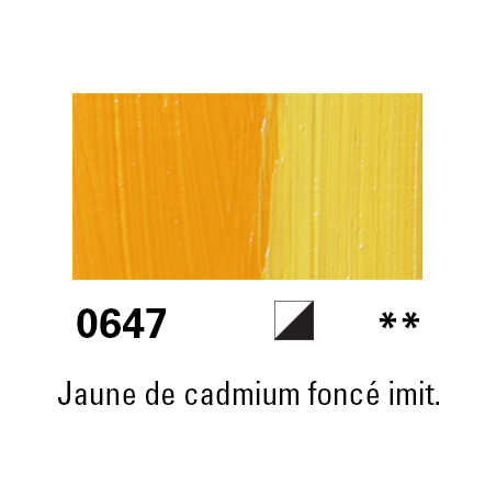 LUKAS BERLIN HUILE 37ML 0647 JAUNE CADMIUM FONCE