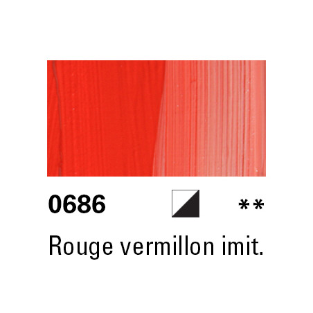 LUKAS BERLIN HUILE 37ML 0686 ROUGE VERMILLON