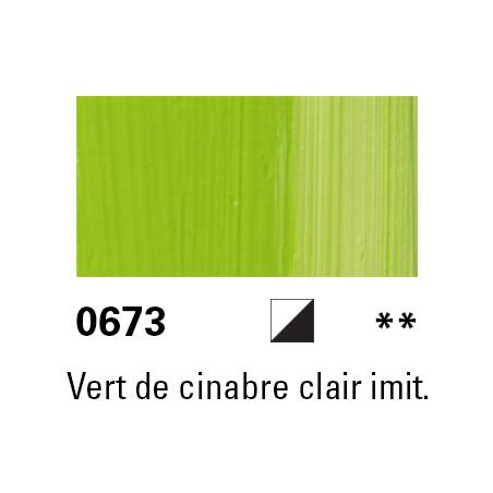 LUKAS BERLIN HUILE 37ML 0673 VERT CINABRE CLAIR