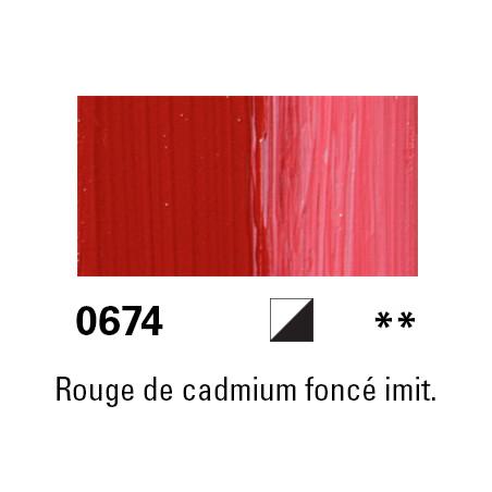 LUKAS BERLIN HUILE 37ML 0674 ROUGE CADMIUM FONCE