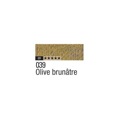 CARAN D'ACHE PASTEL PENCIL 039 OLIVE BRUNATRE