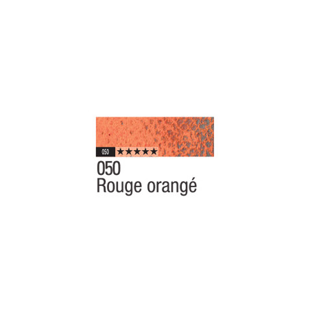 CARAN D'ACHE PASTEL PENCIL 050 ROUGE ORANGE