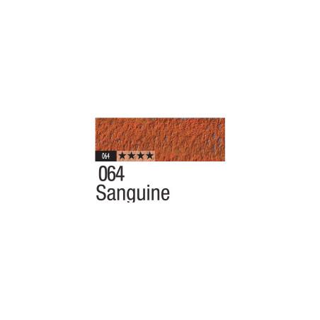 CARAN D'ACHE PASTEL PENCIL 064 SANGUINE MOYENNE