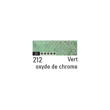CARAN D'ACHE PASTEL PENCIL 212 VERT OXYDE DE CHROME