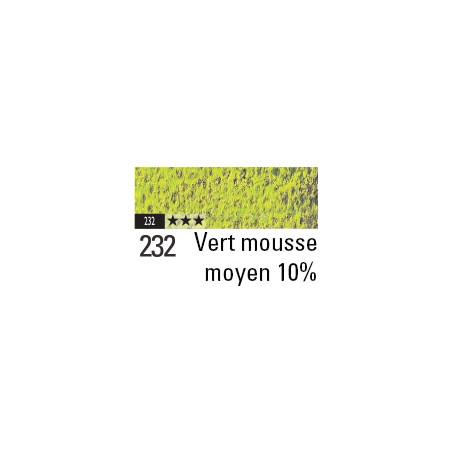 CARAN D'ACHE PASTEL PENCIL 232 VERT MOUSSE MOYEN 10%