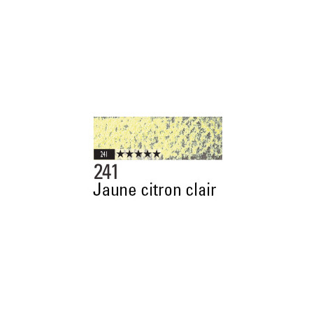 CARAN D'ACHE PASTEL PENCIL 241 JAUNE CITRON CLAIR