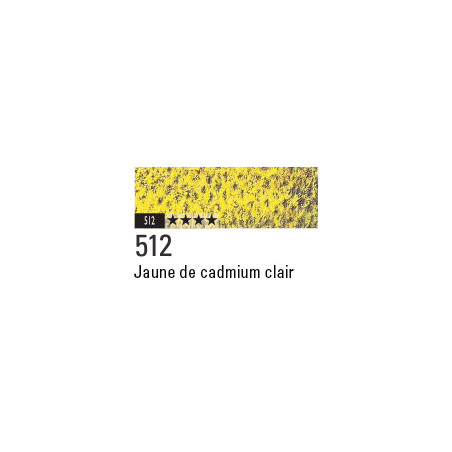 CARAN D'ACHE PASTEL PENCIL 512 JAUNE CADMIUM CLAIR