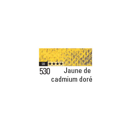 CARAN D'ACHE PASTEL PENCIL 530 JAUNE CADMIUM DORE