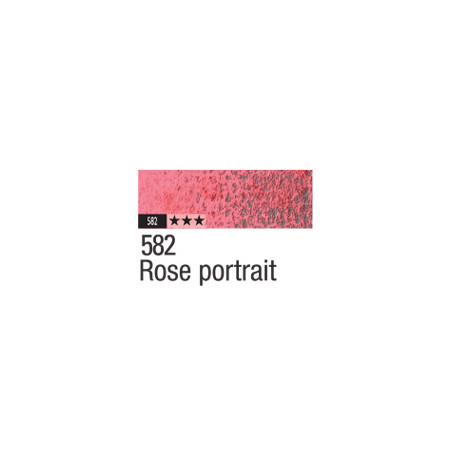CARAN D'ACHE PASTEL PENCIL 582 ROSE PORTRAIT