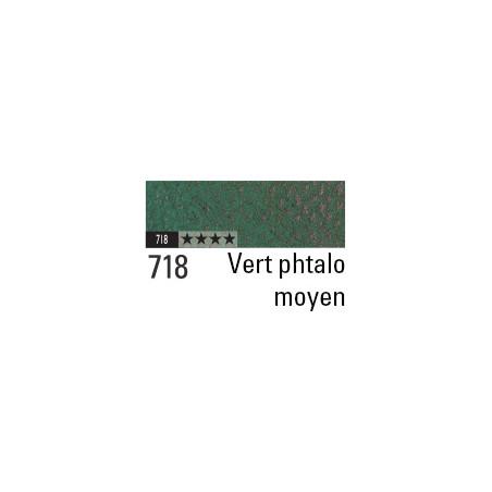 CARAN D'ACHE PASTEL PENCIL 718 VERT PHTALO MOYEN