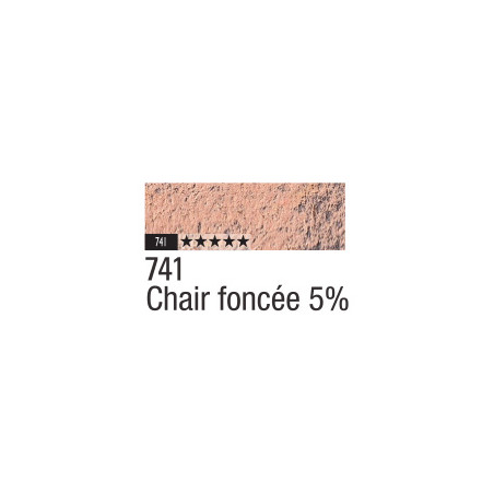 CARAN D'ACHE PASTEL PENCIL 741 CHAIR FONCEE 5%