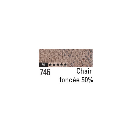 CARAN D'ACHE PASTEL PENCIL 746 CHAIR FONCEE 50%
