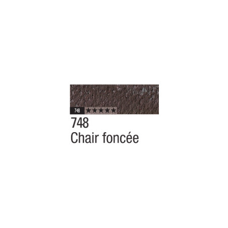 CARAN D'ACHE PASTEL PENCIL 748 CHAIR FONCEE