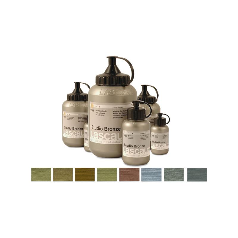 Lascaux Studio Bronze couleurs acryliques métalliques