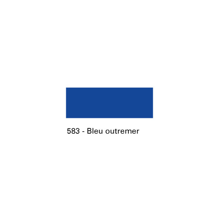 SIEBDRUCKLAND ENCRE SERIGRAPHIE 400ML S4 583 BLEU OUTREMER/A EFFACER