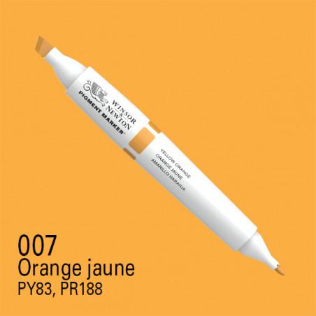 W&N PIGMENT MARKER JAUNE ORANGE 007
