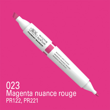 W&N PIGMENT MARKER MAGENTA (TON ROUGE)