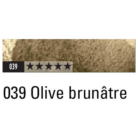 CARAN D'ACHE ARTIST MUSEUM AQUA CRAYON 039 OLIVE BRUNATRE