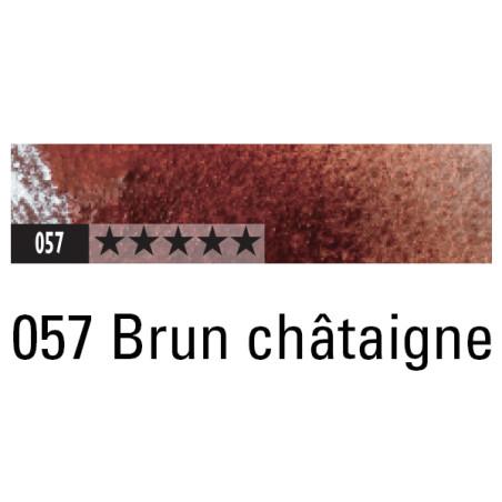 CARAN D'ACHE ARTIST MUSEUM AQUA CRAYON 057 BRUN CHATAIGNE