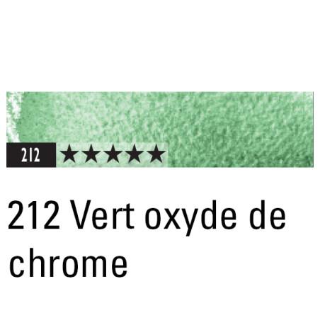 CARAN D'ACHE ARTIST MUSEUM AQUA CRAYON 212 VERT OXYDE CHROME