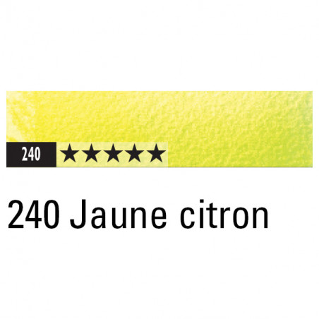 CARAN D'ACHE ARTIST MUSEUM AQUA CRAYON 240 JAUNE CITRON