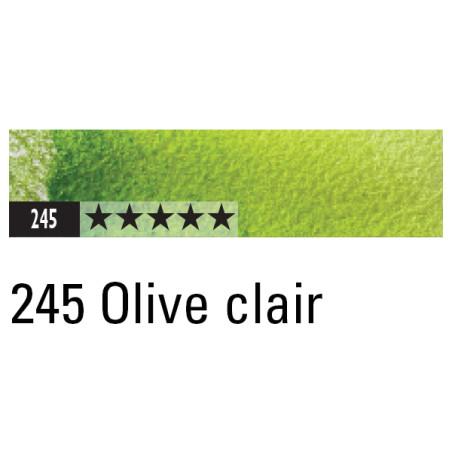 CARAN D'ACHE ARTIST MUSEUM AQUA CRAYON 245 OLIVE CLAIR