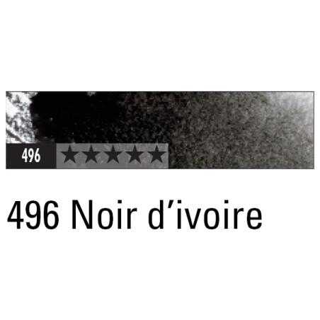 CARAN D'ACHE ARTIST MUSEUM AQUA CRAYON 496 NOIR D'IVOIRE