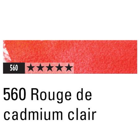 CARAN D'ACHE ARTIST MUSEUM AQUA CRAYON 560 ROUGE DE CADM. CLAIR