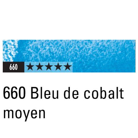 CARAN D'ACHE ARTIST MUSEUM AQUA CRAYON 660 BLEU DE COBALT MOYEN