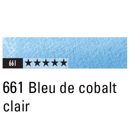 CARAN D'ACHE ARTIST MUSEUM AQUA CRAYON 661 BLEU COBALT CLAIR